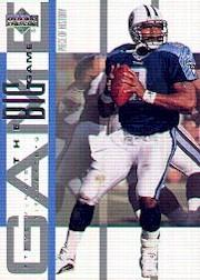 2002 UD Piece of History The Big Game #BG29 Steve McNair