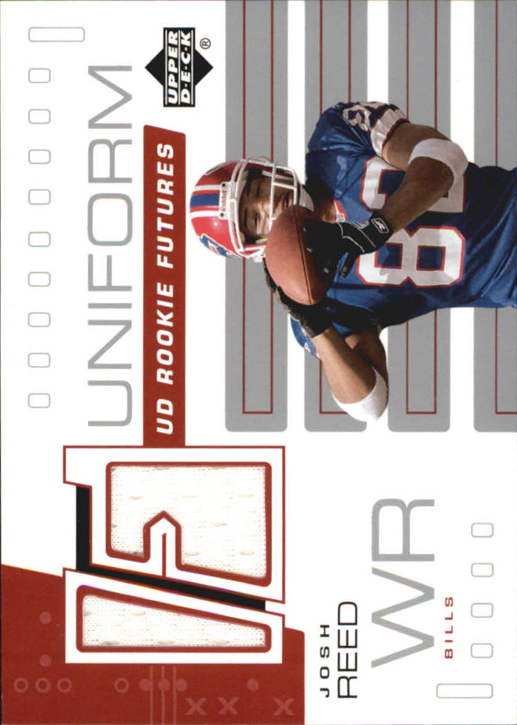 2002 Upper Deck Rookie Futures Jersey #RFJR Josh Reed