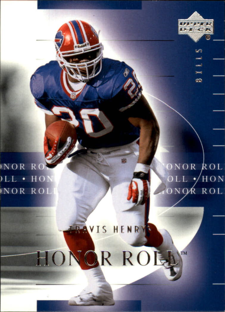 2002 Upper Deck Honor Roll #8 Travis Henry