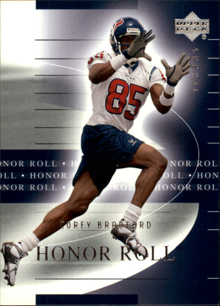 2002 Upper Deck Honor Roll #22 Corey Bradford