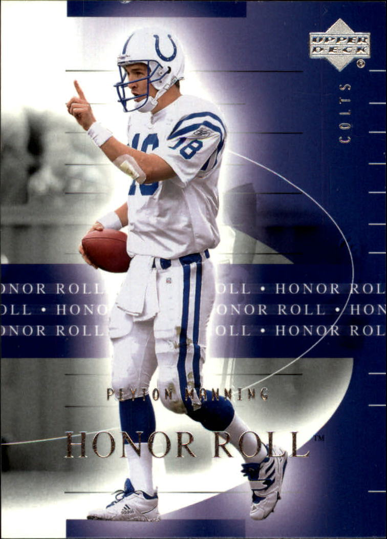 2002 Upper Deck Honor Roll #24 Peyton Manning