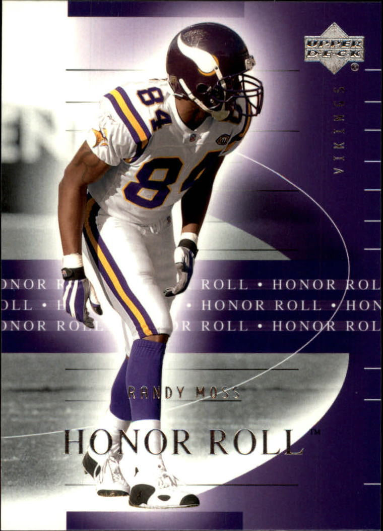2002 Upper Deck Honor Roll #32 Randy Moss