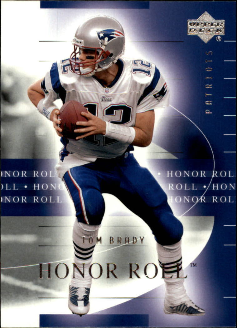 2002 Upper Deck Honor Roll #34 Tom Brady