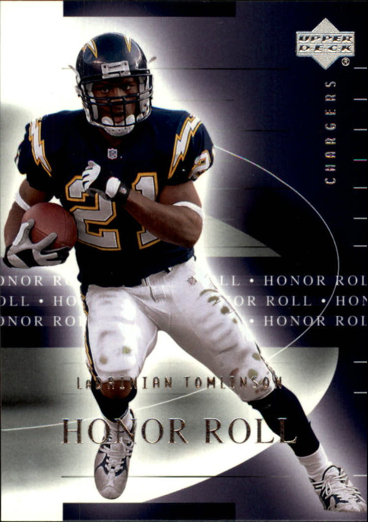 2002 Upper Deck Honor Roll #48 LaDainian Tomlinson