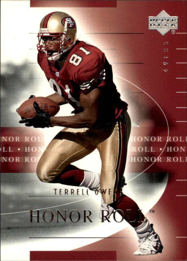 2002 Upper Deck Honor Roll #50 Terrell Owens
