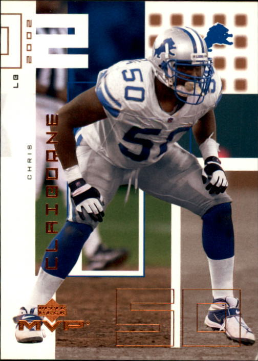 2002 Upper Deck MVP #80 Chris Claiborne