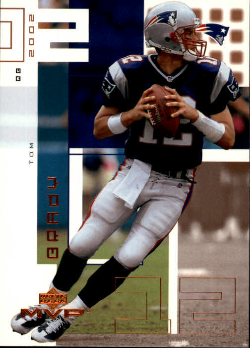 2002 Upper Deck MVP #137 Tom Brady