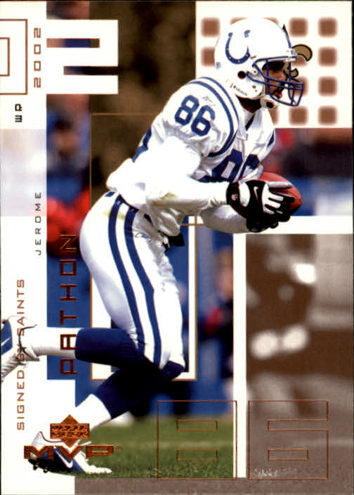 2002 Upper Deck MVP #145 Jerome Pathon