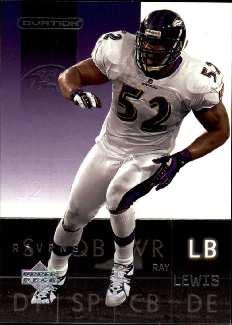 2002 Upper Deck Ovation #7 Ray Lewis