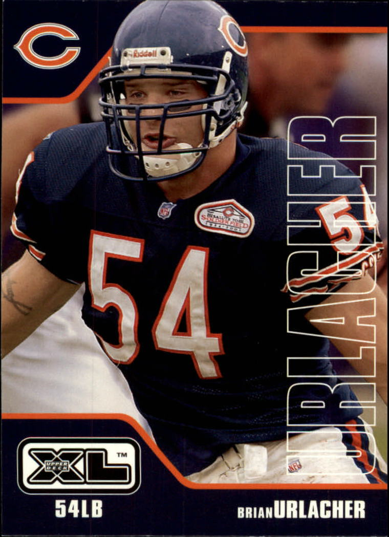 2002 Upper Deck XL #83 Brian Urlacher