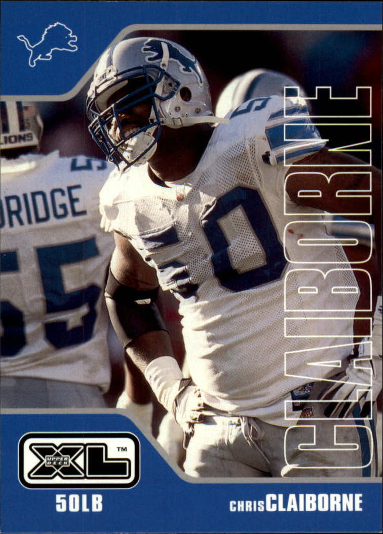 2002 Upper Deck XL #165 Chris Claiborne