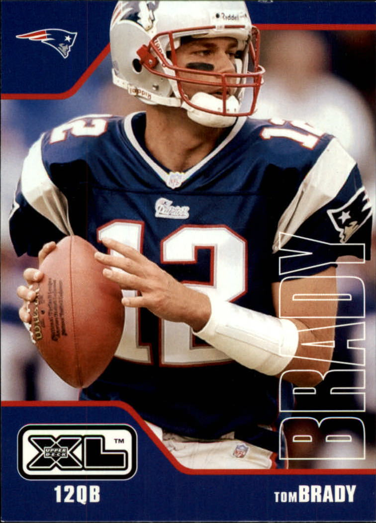 2002 Upper Deck XL #276 Tom Brady