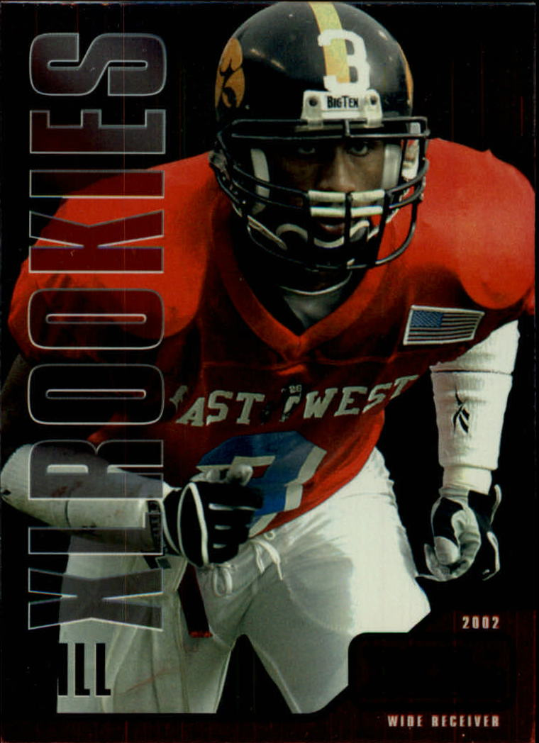 2002 Upper Deck XL #547 Kahlil Hill RC