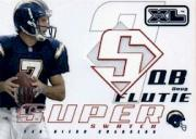 2002 Upper Deck XL Super Swatch Jerseys #SSDF Doug Flutie/800
