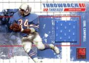 2003 Donruss Elite Throwback Threads #TT14 Earl Campbell