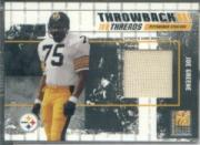 2003 Donruss Elite Throwback Threads #TT41 Joe Greene/L.C. Greenwood