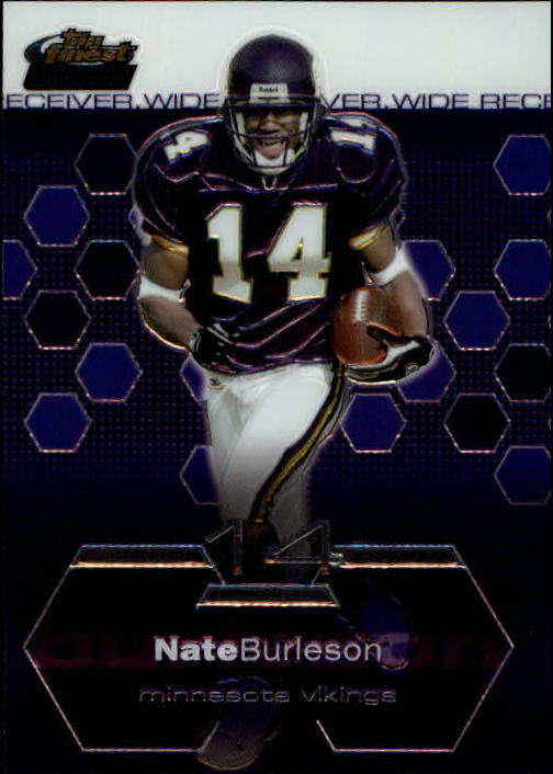 2003 Finest #82 Nate Burleson RC