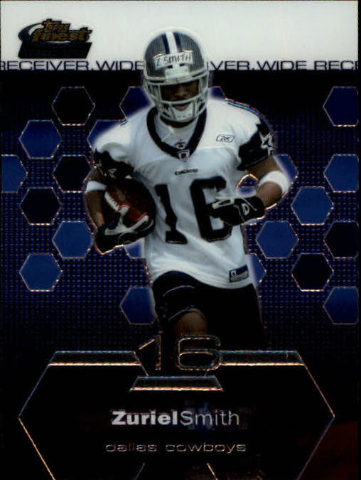 2003 Finest #99 Zuriel Smith RC