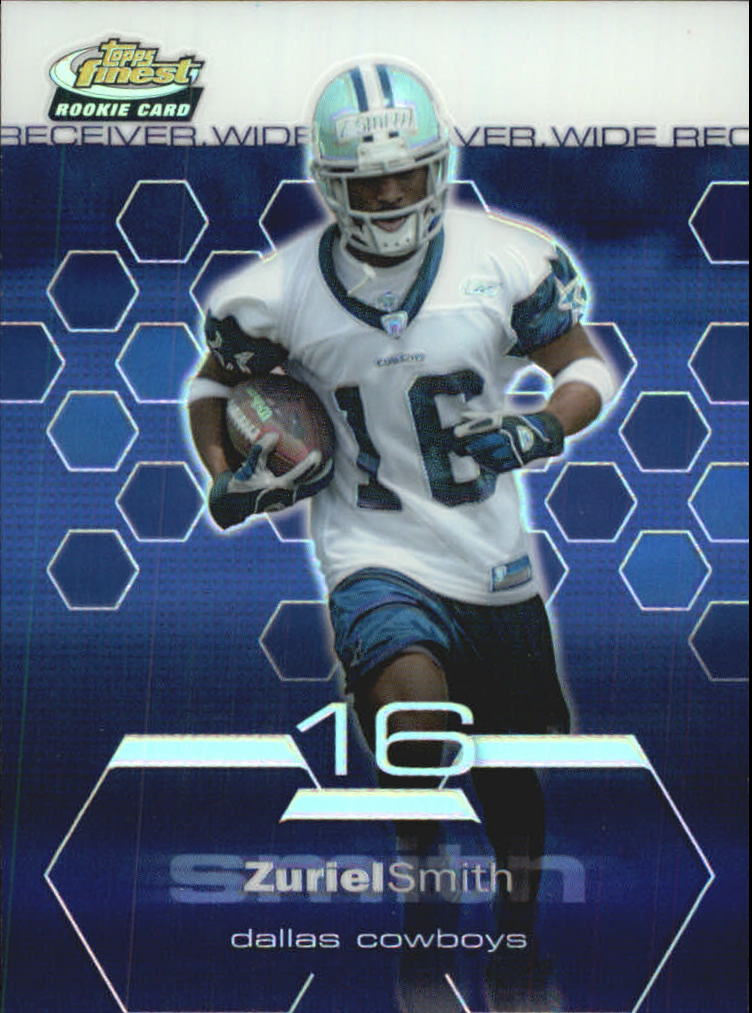 2003 Finest Refractors #99 Zuriel Smith