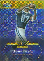 2003 Finest Xfractors #83 Tyrone Calico