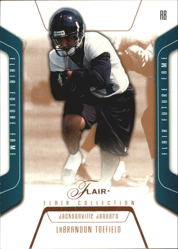 2003 Flair Collection #129 LaBrandon Toefield