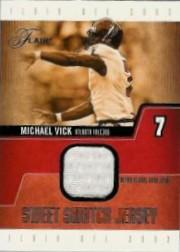 2003 Flair Sweet Swatch Jerseys #MV Michael Vick