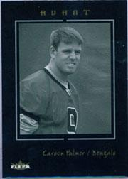 2003 Fleer Avant Black #61 Carson Palmer