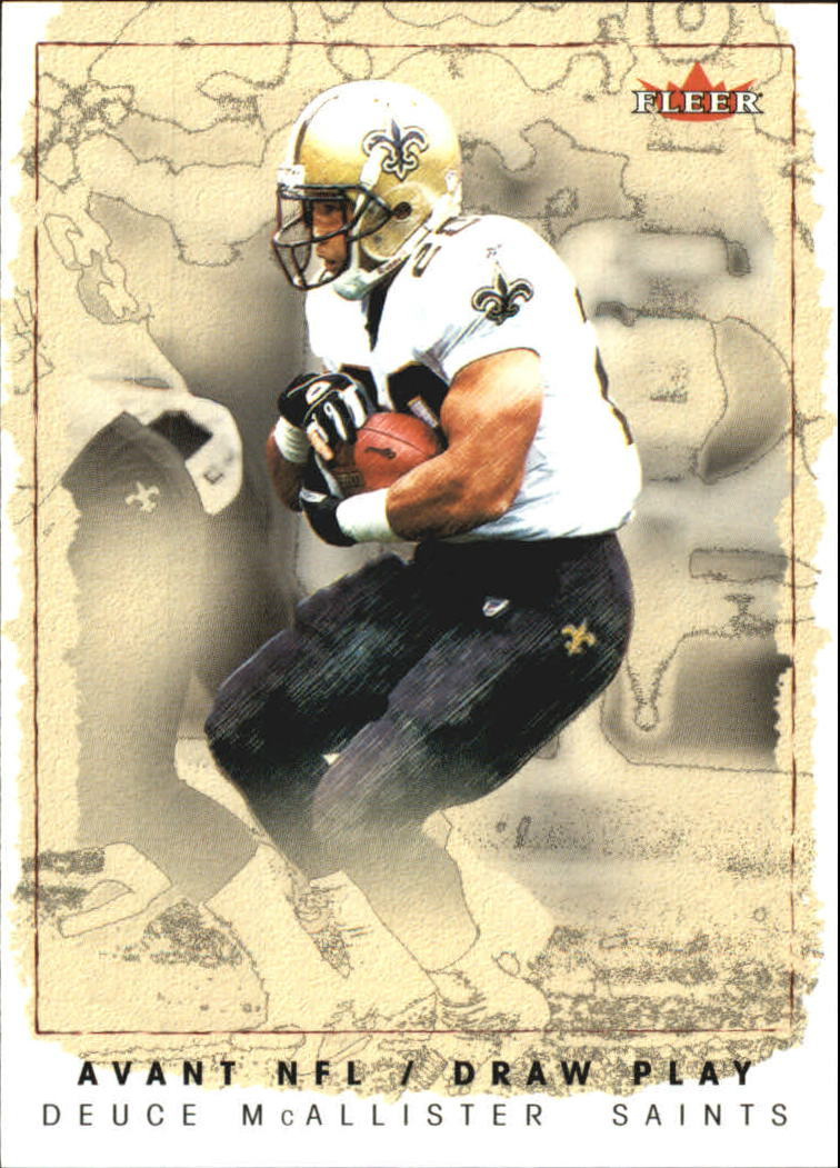 2003 Fleer Avant Draw Play #4 Deuce McAllister