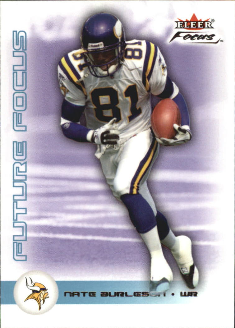 2003 Fleer Focus #143 Nate Burleson RC