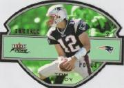 2003 Fleer Focus Emerald Focus #4 Tom Brady