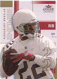 2003 Fleer Genuine Insider #18 Emmitt Smith