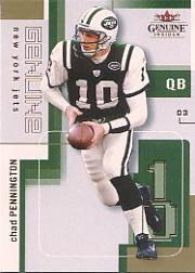 2003 Fleer Genuine Insider #28 Chad Pennington