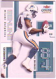 2003 Fleer Genuine Insider #37 Chris Chambers