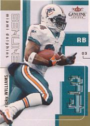 2003 Fleer Genuine Insider #48 Ricky Williams