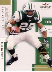 2003 Fleer Genuine Insider #89 Curtis Martin