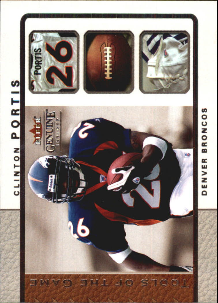 2003 Fleer Genuine Insider Tools of the Game #2 Clinton Portis