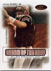 2003 Hot Prospects Cream of the Crop #3 Carson Palmer front image