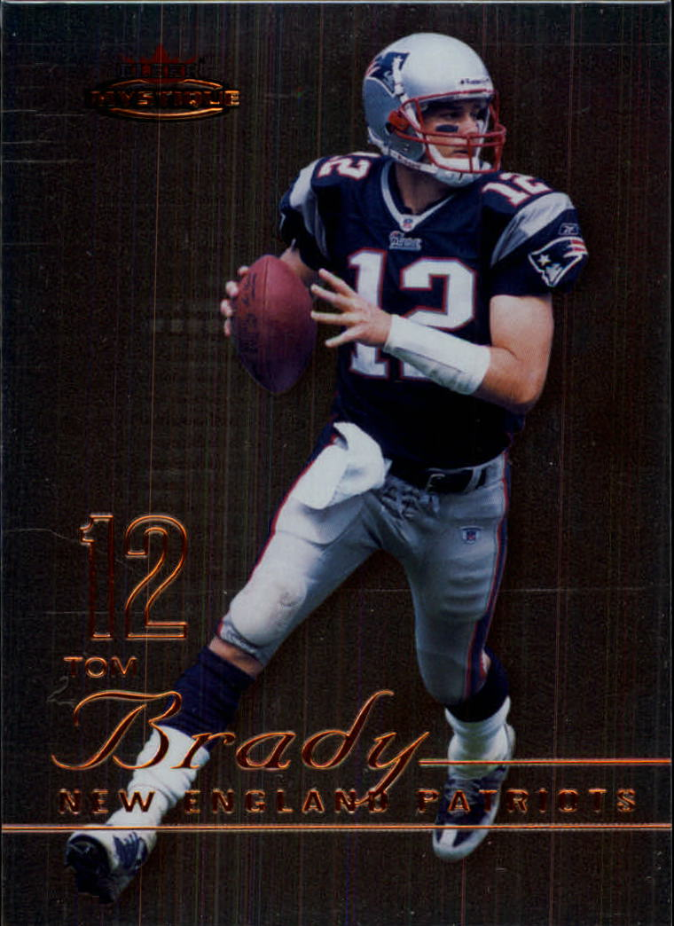 2003 Fleer Mystique #46 Tom Brady