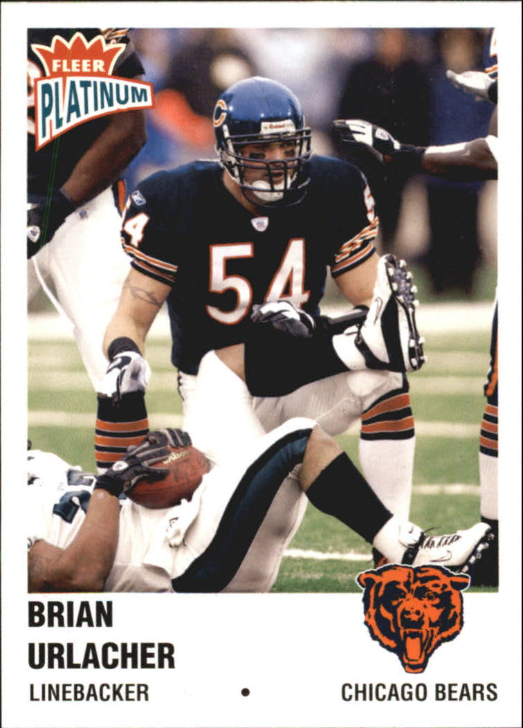 2003 Fleer Platinum #68 Brian Urlacher
