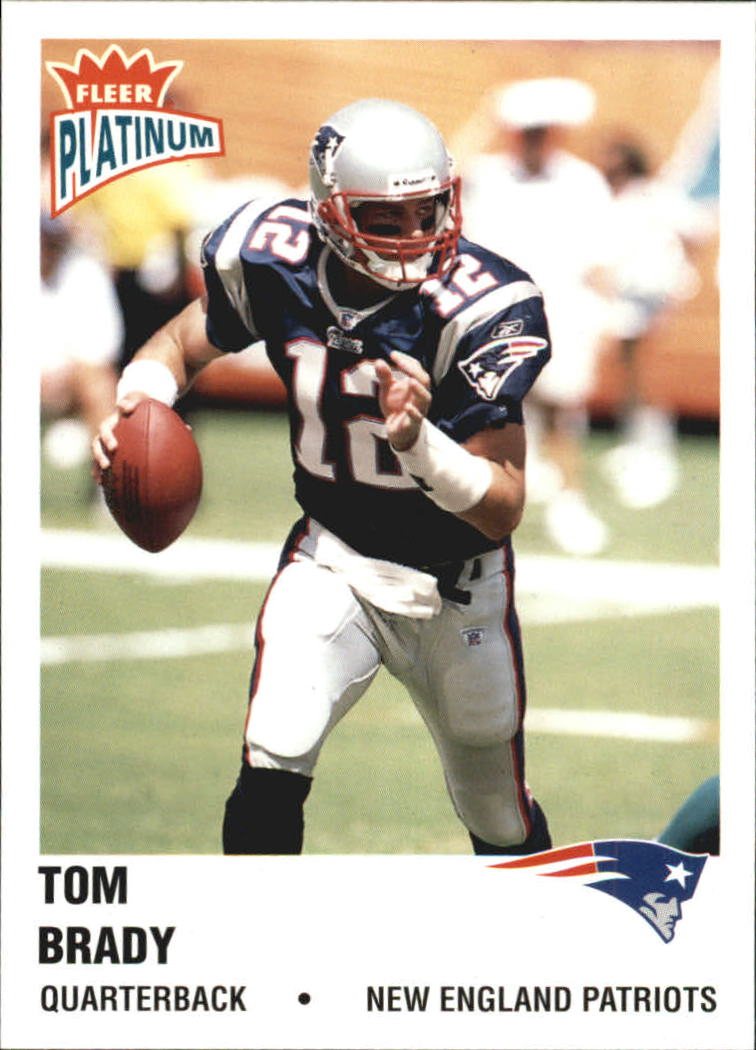 2003 Fleer Platinum #138 Tom Brady