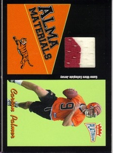 2003 Fleer Platinum Alma Materials #6 Carson Palmer
