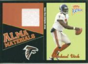 2003 Fleer Platinum Alma Materials #8 Michael Vick