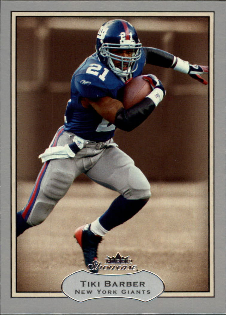 2003 Fleer Showcase #22 Tiki Barber