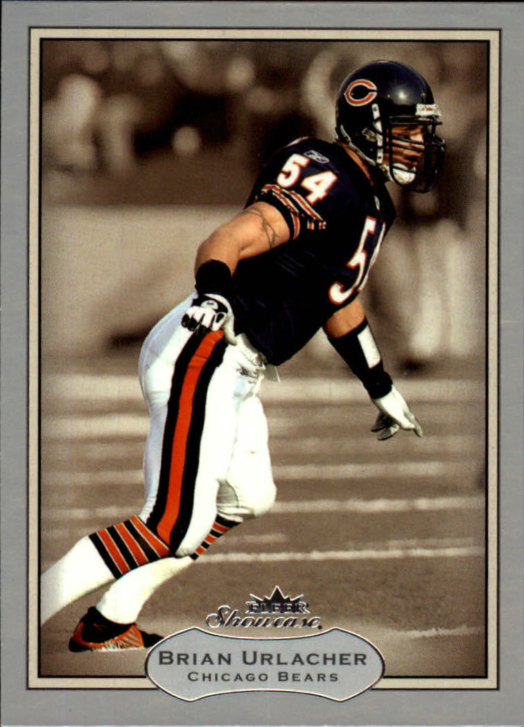 2003 Fleer Showcase #44 Brian Urlacher
