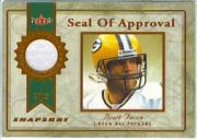 2003 Fleer Snapshot Seal of Approval Jerseys Bronze #SABF Brett Favre