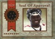 2003 Fleer Snapshot Seal of Approval Jerseys Bronze #SAMV Michael Vick