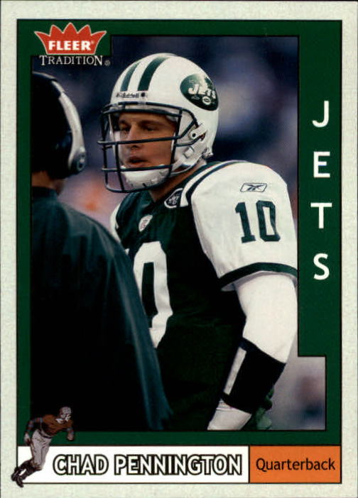 2003 Fleer Tradition #9 Chad Pennington