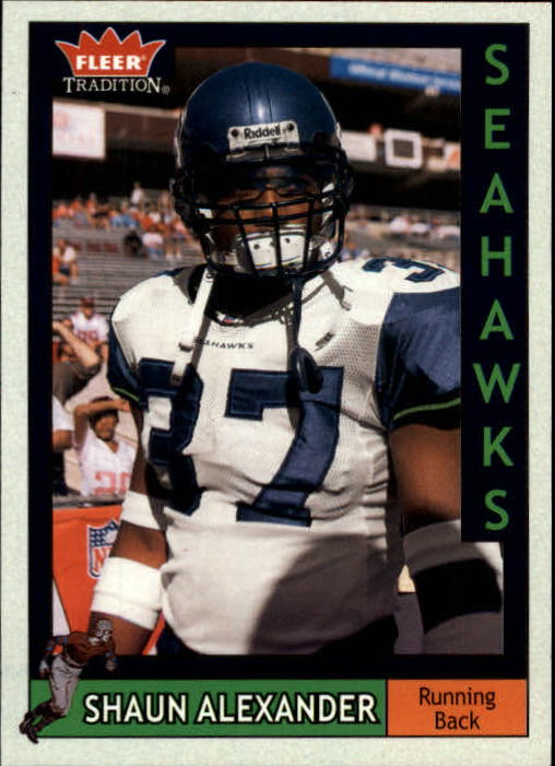2003 Fleer Tradition #65 Shaun Alexander