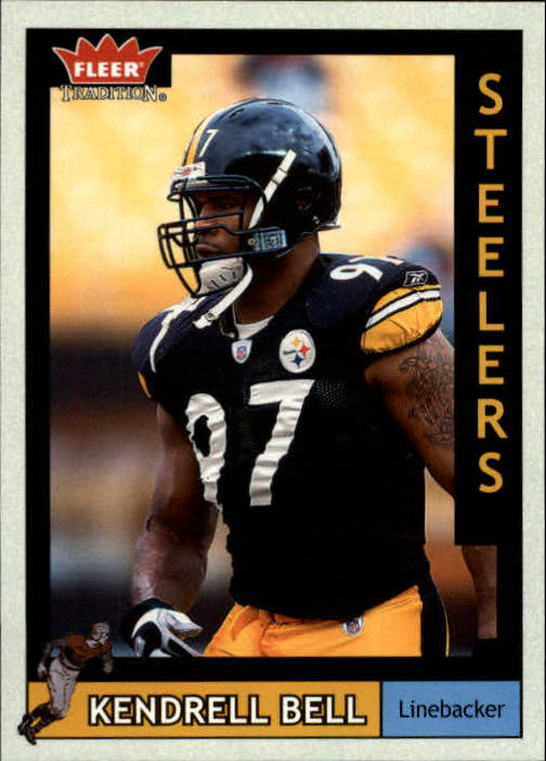2003 Fleer Tradition #97 Kendrell Bell