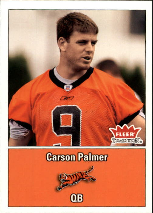 2003 Fleer Tradition #271 Carson Palmer RC